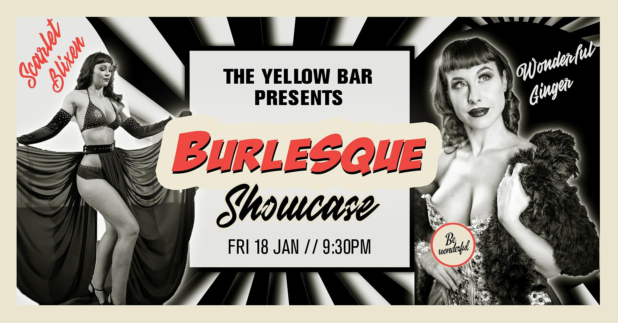 Burlesque Showcase - The Yellow Bar