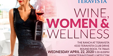 Wine, Women & Wellness (Free Event) Reschedule Pending tickets