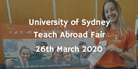 University of Sydney Teach Abroad Fair tickets