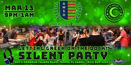 Getting Green on the Dock Silent Party tickets