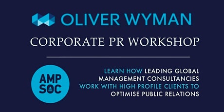 Oliver Wyman PR and Corporate Campaigns Workshop tickets