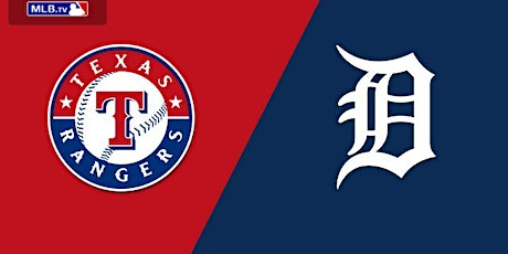 Tigers vs Rangers August 16th, 2020 tickets