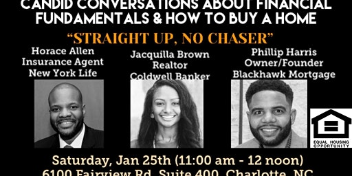 Home Buyer Workshop - Straight Up, No Chaser