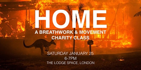 Home - A Breathwork and Movement Charity Class for Australia's Fires tickets