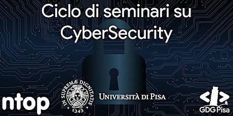 Seminari su Cybersecurity e Analisi Traffico di Rete biglietti