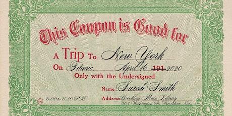 A Trip on Titanic tickets