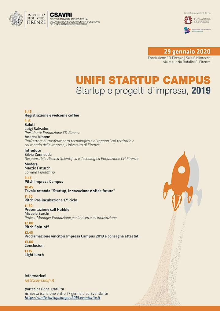 Immagine Unifi Startup Campus: startup e progetti d'impresa 2019