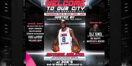 "ASW 2020 JUMPOFF -  ""WELCOME TO OUR CITY"" HOSTED BY ANTOINE WALKER tickets"