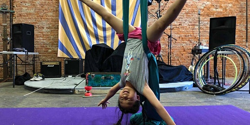 Youth Aerial Silks: Monthly Workshop