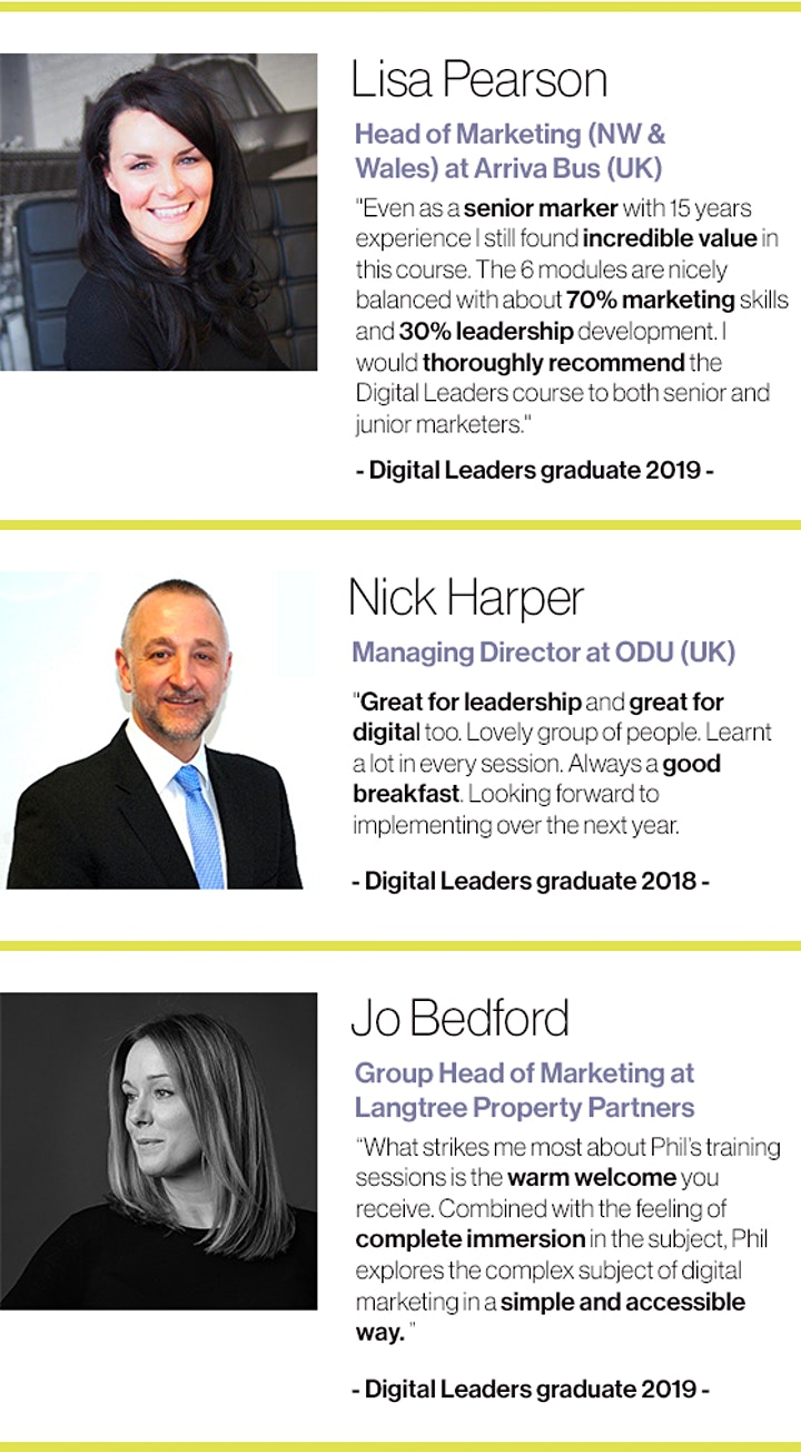 Digital Leaders - Leadership and digital marketing (6 month course) image