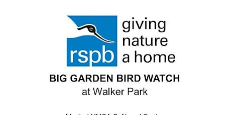 Big Garden Bird Watch at Walker Park tickets
