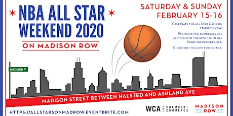 All Stars Weekend on Madison Row tickets