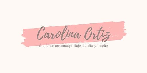 Clase de maquillaje con Carolina Ortiz