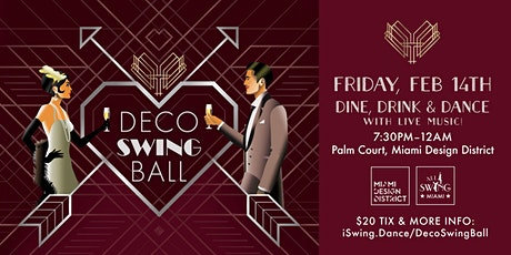 MDD Deco Swing Ball (Feb 14th) tickets