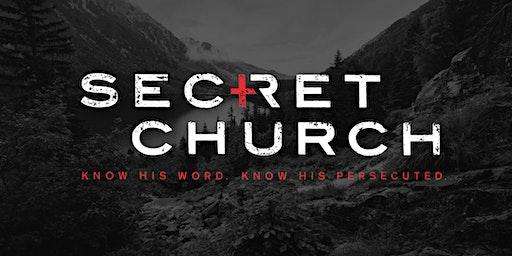 "Secret Church - Local Simulcast - ""God, Government, & the Gospel"""