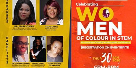 Celebration of Women of Colour in STEM tickets