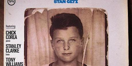 CHRIS GREENE QUINTET perform STAN GETZ 1974 release tickets