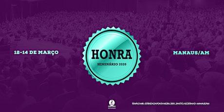 Seminário de Honra ingressos