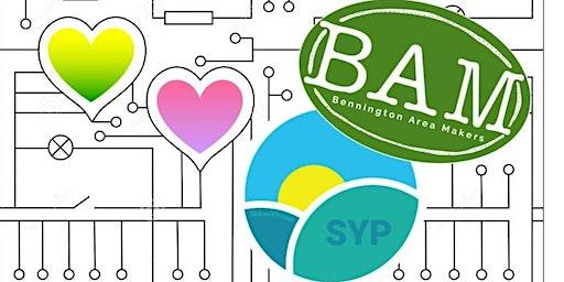 SYPxBAM Valentine Card Workshop