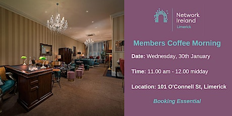 Network Ireland Limerick - January Coffee Morning tickets