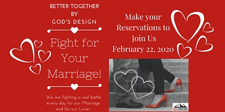 Date Night with a Purpose: Fight For Your Marriage tickets