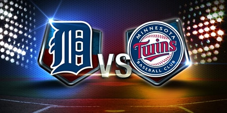 Tigers vs Twins September 13th, 2020 tickets