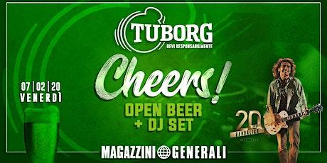Tuborg  Open Beer - Magazzini Generali biglietti