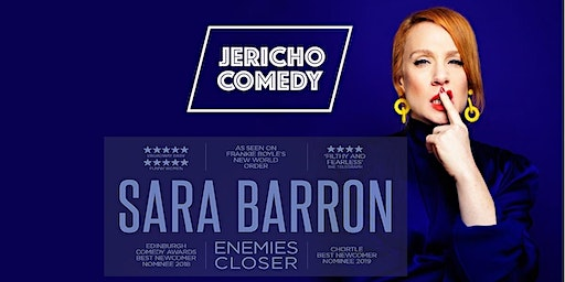 "Jericho Comedy - Sara Barron ""Enemies Closer"""