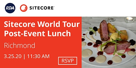 Sitecore World Tour Post-Event Lunch | Richmond tickets