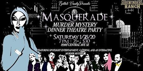 Drag Queen Murder Mystery Dinner Party billets