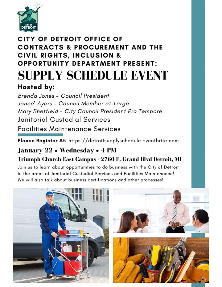 Supply Schedule Outreach image