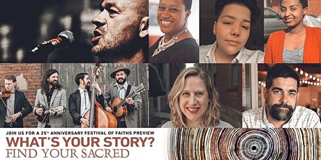 Festival of Faiths 2020 Preview: What's Your Story? tickets