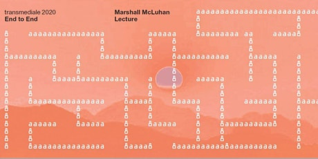 Transmediale Marshall McLuhan Lecture tickets