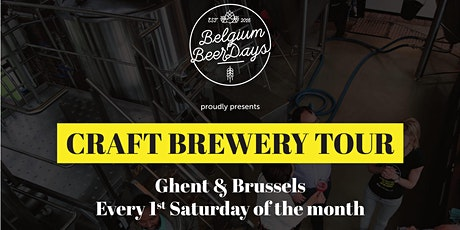 Craft Brewery Tour Gent  tickets