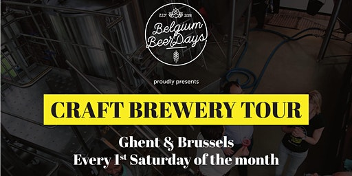 Craft Brewery Tour Gent