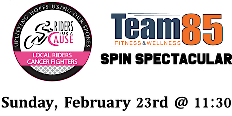RFAC Team 85 Spin Ride - February 23rd tickets