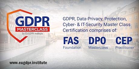 GDPR Masterclass - Budapest 2020 tickets