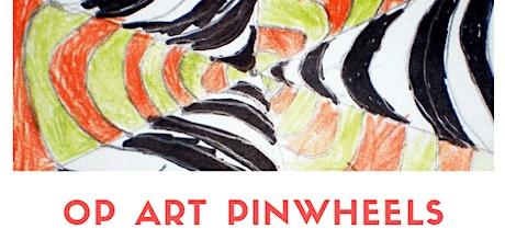 OP ART PINWHEELS - LABORATORIO PER BAMBINI 3-10 ANNI! tickets