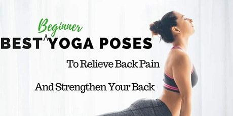 FREE Yoga Class For Back Care tickets