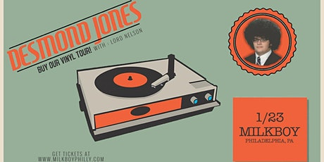 Desmond Jones tickets