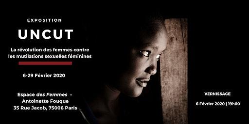 Vernissage UNCUT | Exposition sur les mutilations sexuelles féminines
