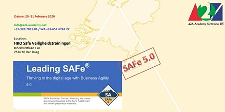 Leading SAFe 5.0 20-21/2 tickets