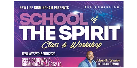 School of the Spirit Birmingham tickets