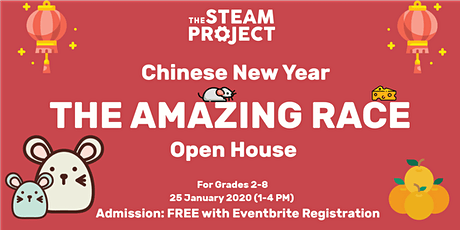 The Amazing Race: Chinese New Year Open House tickets