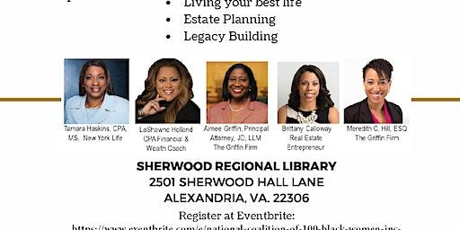 National Coalition of 100 Black Women, Inc., NOVA Chapter Economic Empowerment Workshop