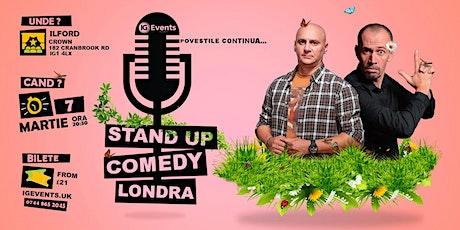 Stand Up Comedy Londra cu Varza si Dan Tutu 7 Martie tickets