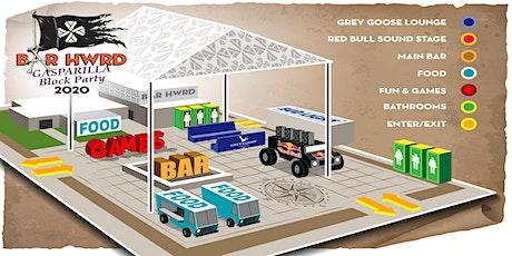 Bar HWRD Gasparilla Block Party tickets