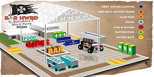 Bar HWRD Gasparilla Block Party