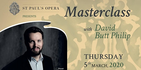 Masterclass with David Butt Philip tickets