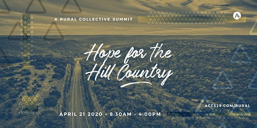 Hope for the Hill Country